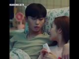 Whats wrong with secretary kim | Episodio 12 | su cara cuando ve el beso en la TV ?