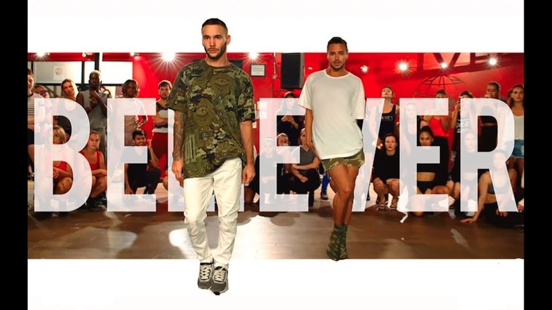 YANIS MARSHALL KEVIN VIVES HEELS CHOREOGRAPHY BELIEVER BY CYN.