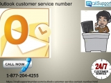 For fairer, productive and attractive deals, dial our Outlook customer service number 1-877-204-4255
