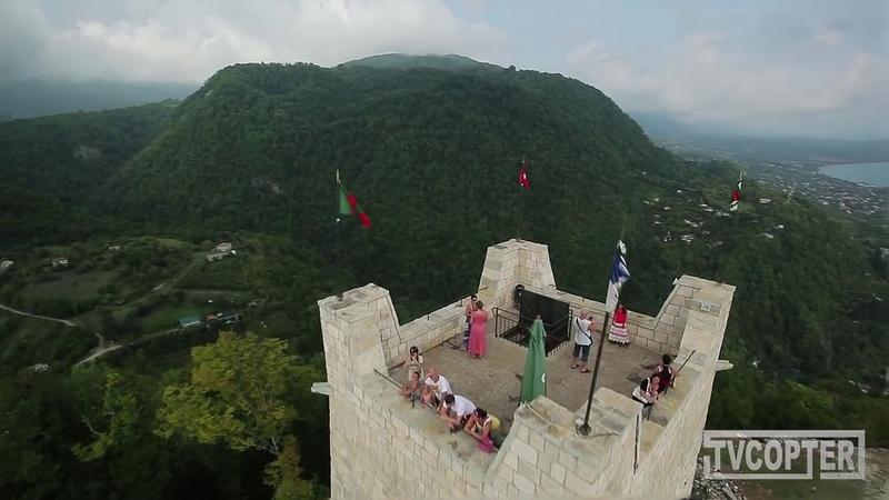 Красота Абхазии с высоты