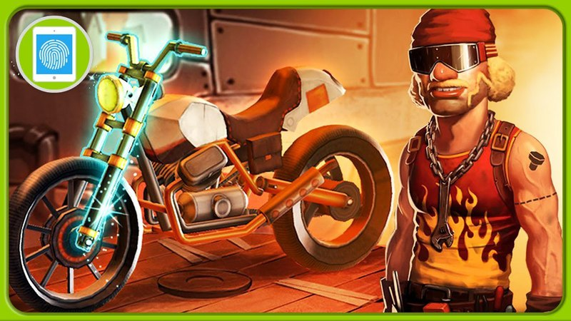 Брутальный мототриал Экстрим трюки и мощные мотоциклы * Игра Trials Frontier на Sensor Games