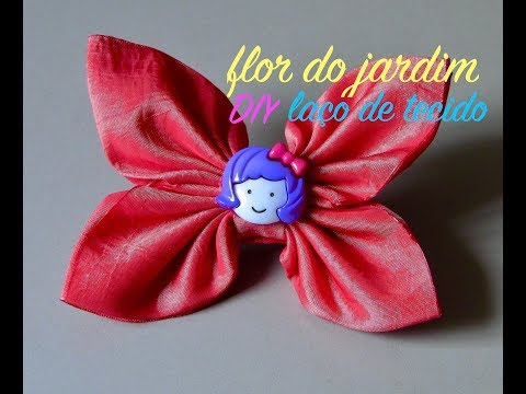 Laço facil de tecido - fabric loop - Lazo de tejido