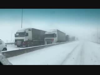 Первый снег в Ростовской области! 2018-11-13