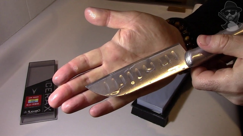 🔥 Как заточить кухонный нож за 1$ до остроты опасной бритвы - ЭТО ПРОСТО!