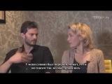 Интервью Джейми Дорнан и Джиллиан Андерсон для BBC о 2-ом сезоне сериала «Крах» (русские субтитры)