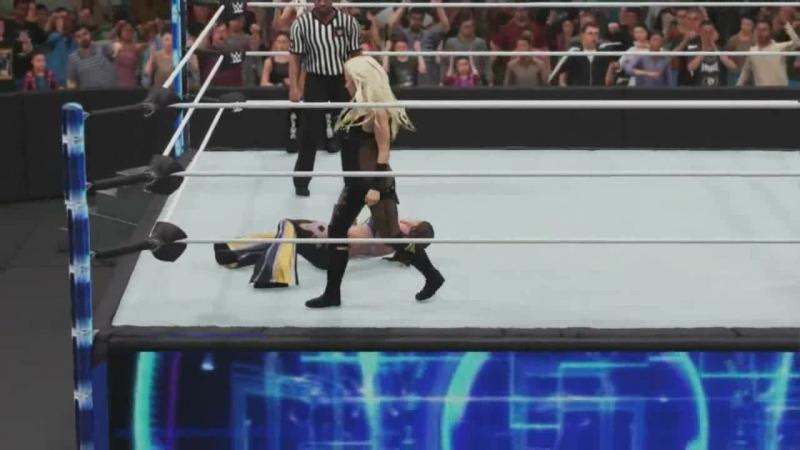 Alexa Bliss and Mickie James Vs Trish Stratus and Lita WWE Evolution
