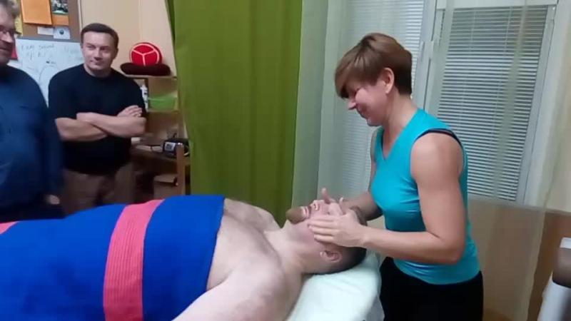 Миоструктурный массаж лица. Наталья Маслова. ЦПРМ Королёв.