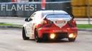 CRAZY Mitsubishi Lancer Evo X Drifting Anti Lag Backfires and FLAMES