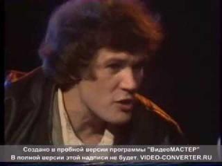 Сергей Петров. Телевидение. Концерт - интервью. Авторская песня.