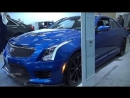 2018 Cadillac ATS V Coupe Exterior And Interior Walkaround