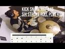 Drum Lesson Kick Snare Hat KllrrlKR L Six Stroke Roll idea 45