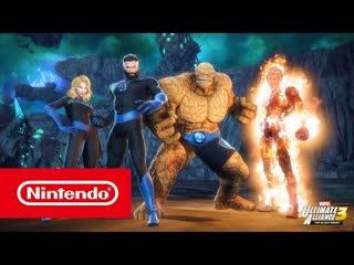Marvel ultimate alliance 3 the black order — набор dlc 3 — фантастическая четверка тень дума