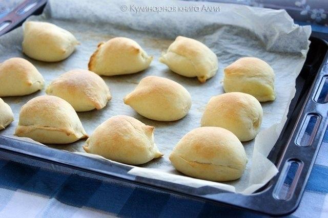 Пирожки-малышки «слоеные» скороспелые... из чудо-теста... Эти пирожки -