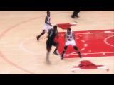 Nate Robinson's BIG block on LeBron James