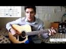 Как играть на гитаре Adelle-Hello ( Хижина музиканта )