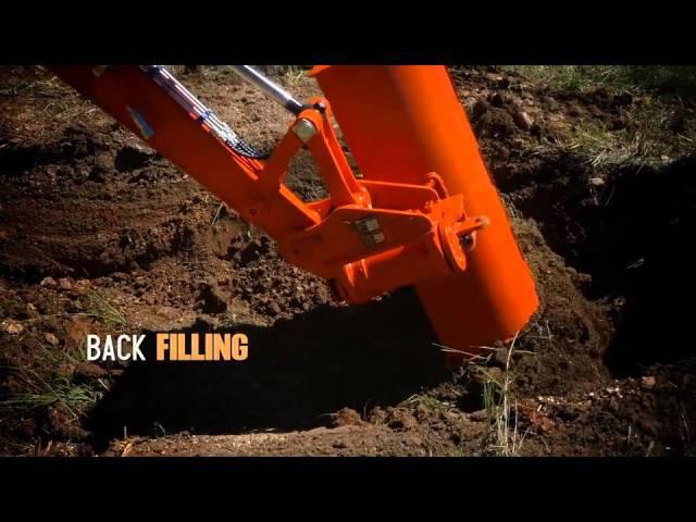 Excavator ANT Tilt Hitch расширяет возможности мини-экскаватора