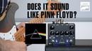 Keeley Dark Side Guitar Effect Pedal - Does it sound like Pink Floyd?