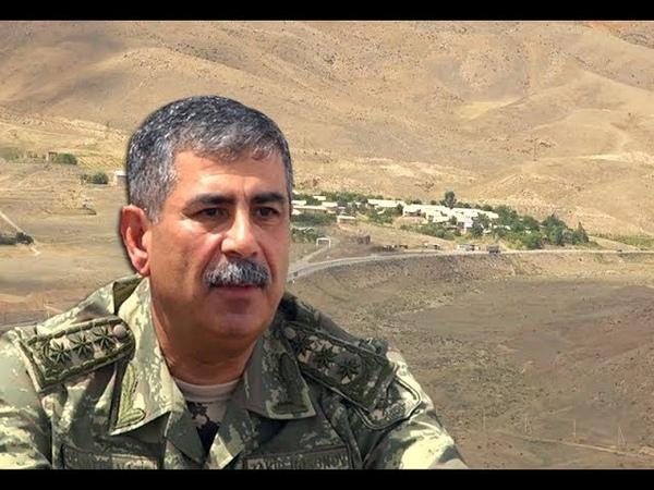 """Zakir Həsənov: """"Laçına gedən yola artıq ordumuz nəzarət edir"""" - TAM VERSİYA"""