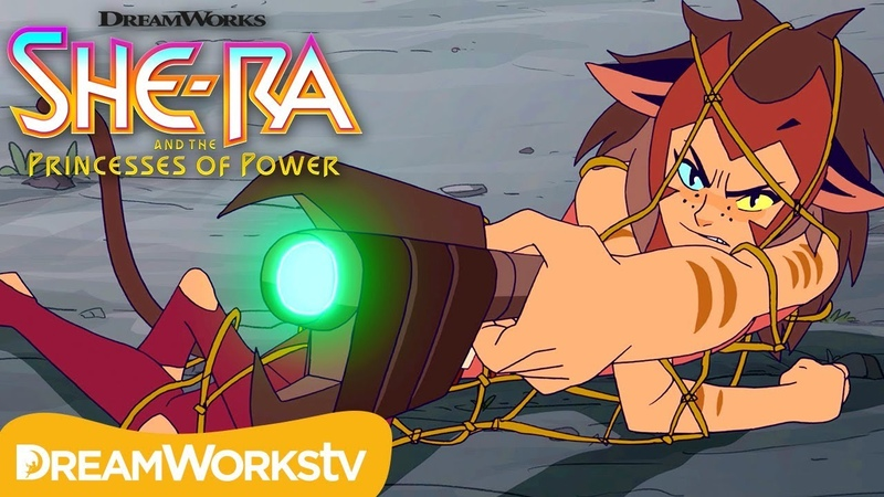 Facing Catra | DREAMWORKS SHE-RA AND THE PRINCESSES OF POWER