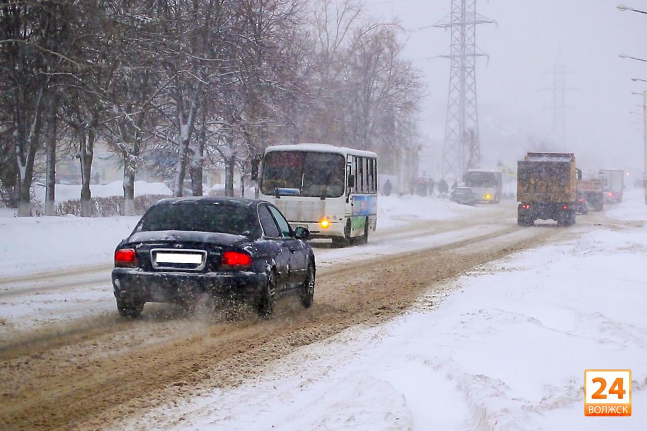 Синоптики предупредили о новых метелях и снегопадах в Марий Эл