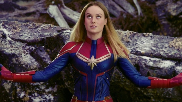 Ваша любимая Бри Ларсон поделилась фото с самой первой примерки костюма Капитана Марвел на камеру Ну не красотка