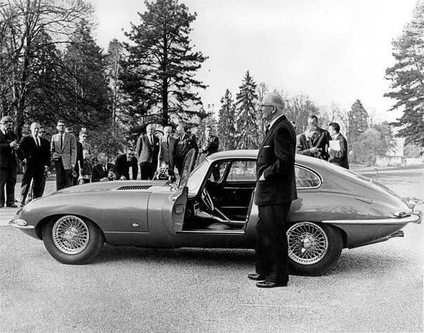 1961 - фирма Jaguar