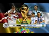 Аргентина - Германия//Финал Чемпионата Мира по футболу 2014