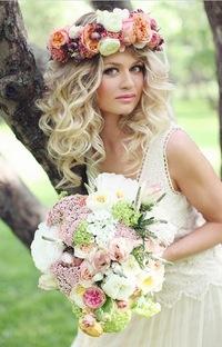 фото ободки из цветов