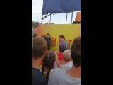 Караоке на каскаде фонтанов Радуга Запорожье 2018