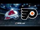 Colorado Avalanche vs Philadelphia Flyers – Oct.22, 2018   Game Highlights   NHL 18/19   Обзор матча