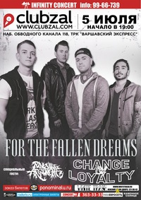 05.07 - FOR THE FALLEN DREAMS в С.-Петербурге!