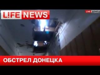 Украинские военные обстреляли морг в Донецке в День независимости
