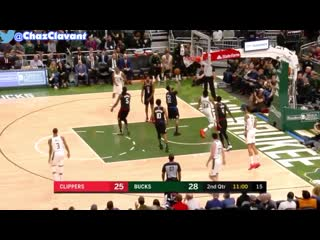 Giannis antetokounmpo ankle injury vs la clippers!