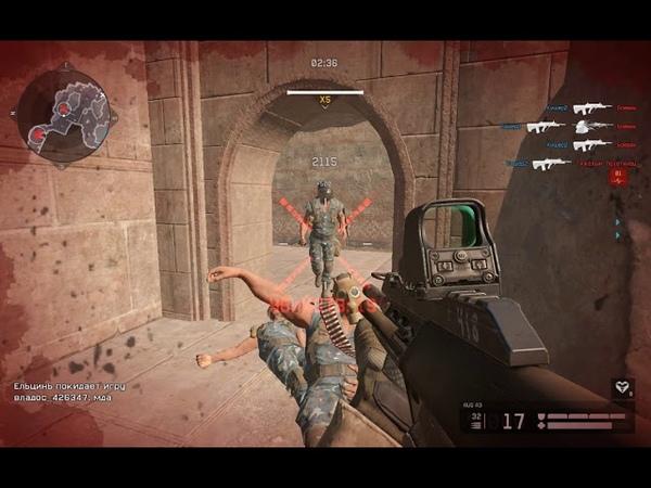 Играем в Warface 2 - Тренировка: Горячая точка