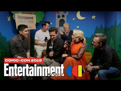 'Pennyworth' Stars Jack Bannon, Ben Aldridge More Join Us LIVE | SDCC 2019 | Entertainment Weekly