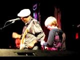Buddy Guy, Quinn Sullivan (12 years old) and Joshua King (11 years old) at BB King Club, New York City, November 15th, 2011