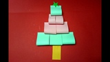 How to Make populer 3D Paper Christmas Tree | Very Easy Origami Paper Craft Christmas Tutorial 🎄