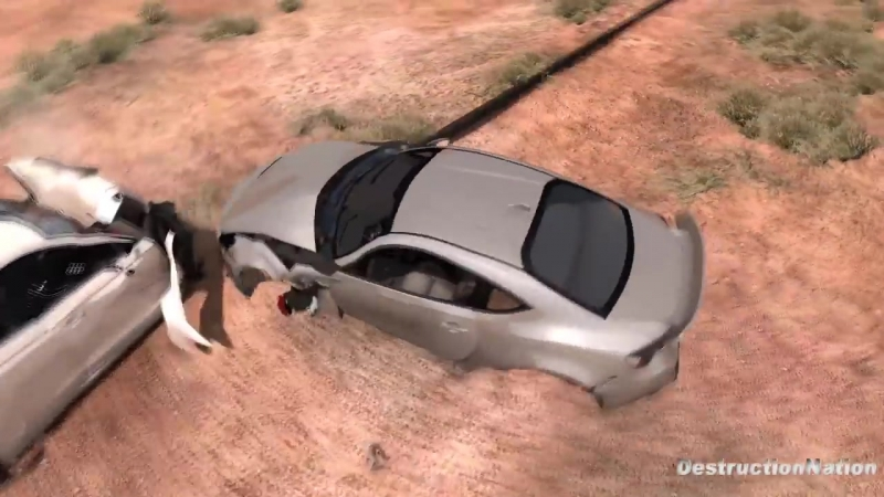 [DestructionNation] Spike Strip High Speed Testing 28 - BeamNG Drive