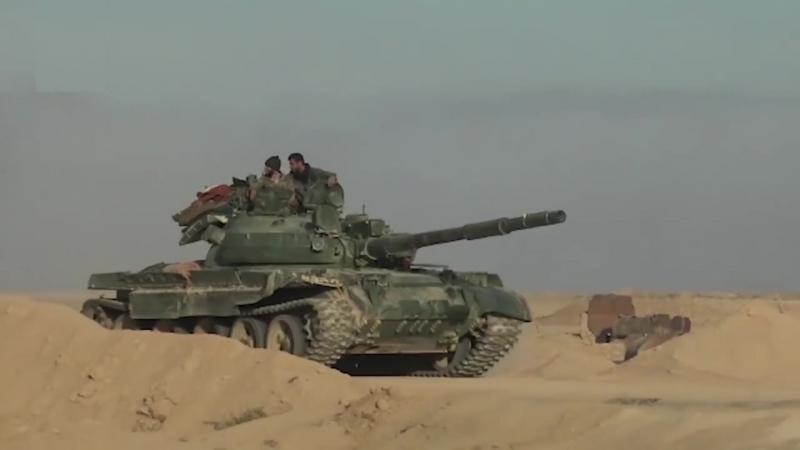 5 декабря 2017. Военная обстановка в Сирии. Сирия заявила о перехвате части ракет, пущенных Израилем
