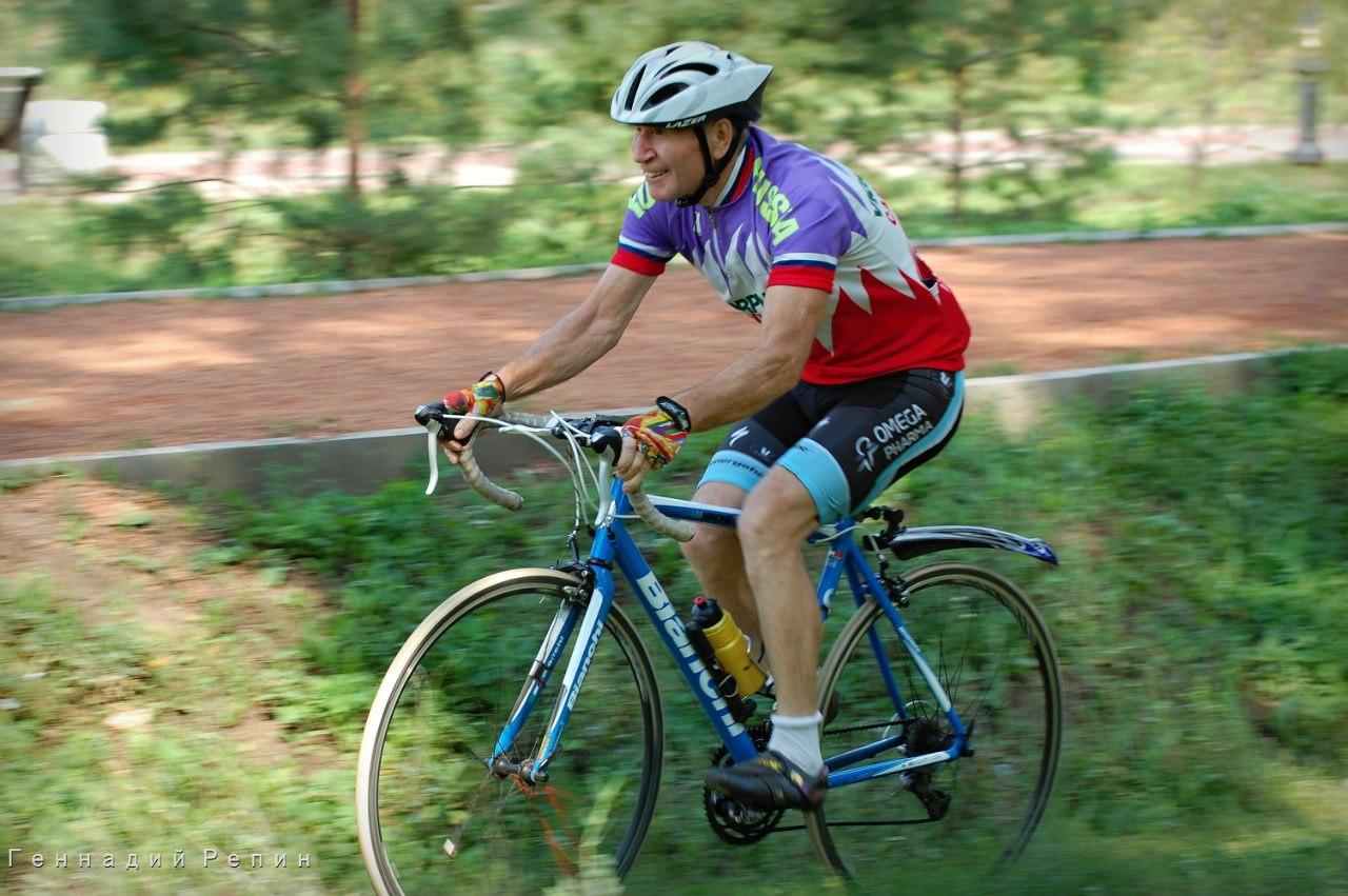День физкультурника. Велоспорт