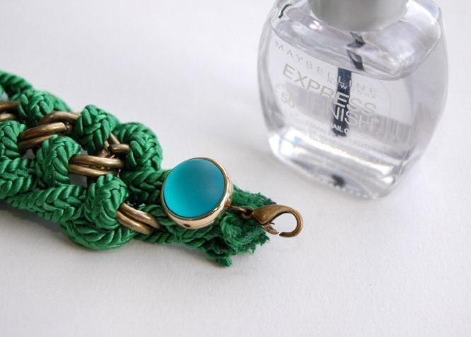 Фенечка из кожи плетение браслетов из