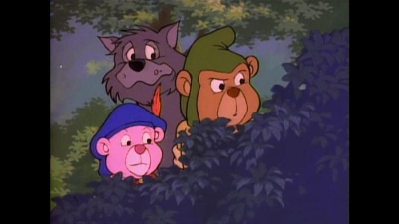 Приключения Мишек Гамми (1x07) Loopy, Go Home ~ A-Hunting We Will Go