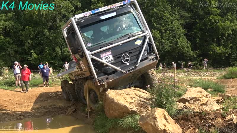 8x8 Mercedes-Benz truck in Europe truck trial _ Off-Road _ Langenaltheim, Germany 2018 _ no. 403