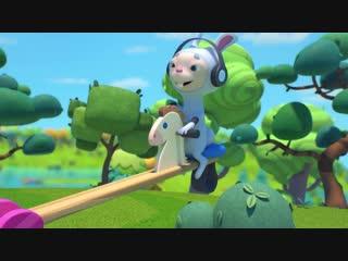 Бобр Добр  - Игровая площадка - Новая серия 9 - прикольные мультики для всеи семьи