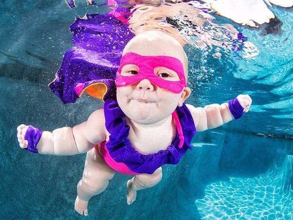 Զվարճալի երեխաները՝ ջրի տակ (ֆոտոշարք)