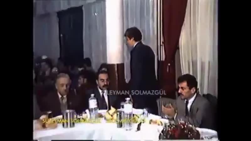 Muhsin Yazıcıoğlu Alparslan Türkeş