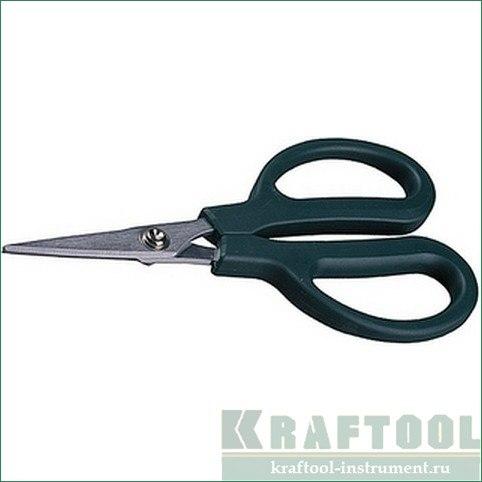 Ножницы прямые технические, V - Mo, 160 мм   KRAFTOOL