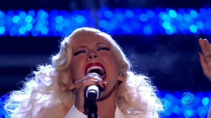 Christina Aguilera - Its A Mans Mans Mans World (Grammy Awards 2007)