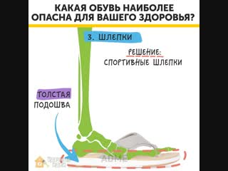 Это полезно знать! Какая обувь наиболее опасна для вашего здоровья