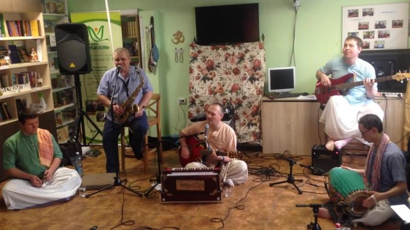 Новосибирск бхаджан - бенд Вриндаван Алтая!